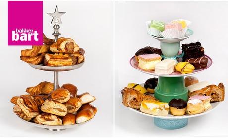 Social Deal: High tea van Bakker Bart voor thuis (2 personen)