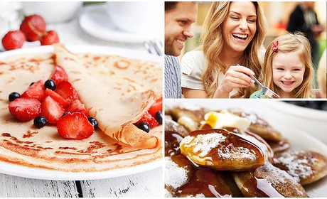 Social Deal: All-You-Can-Eat poffertjes of pannenkoeken