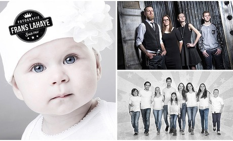 Social Deal: Fotoshoot + minialbum met 6 foto's