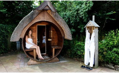 Groupon: Sauna incl. overnachting (2 p.)
