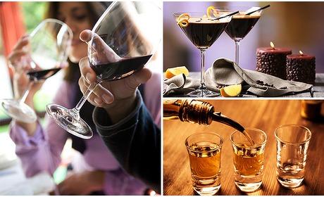 Social Deal: Wijnproeverij (2 uur) + grand dessert