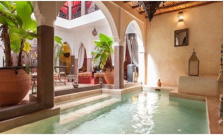 Groupon: Marrakech vanaf EIN: 3-4 nachten in 4* Riad met ontbijt en transfer