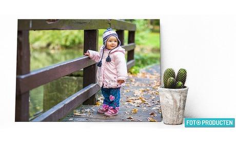 Wowdeal: Foto op canvas, multiplex, aluminium en plexiglas van Fotoproducten.nl