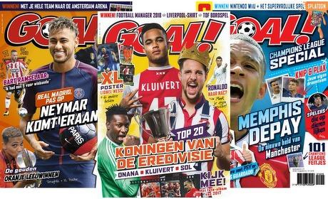 Groupon: Proefabonnement magazine GOAL