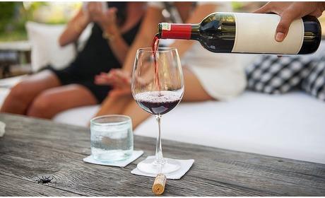 Groupon: High wine bij Kaap Hoorn (2 p.)
