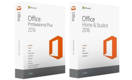 Groupon: Microsoft Office 2016