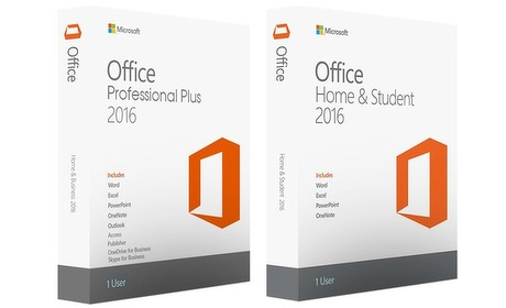 Groupon: Microsoft Office 2016