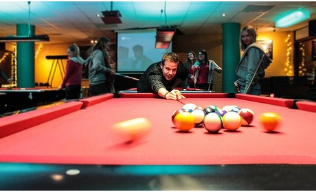 Groupon: Poolen incl. nacho's in Enschede