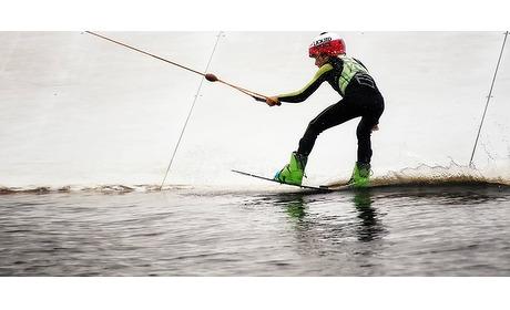 Wowdeal: Waterskien of wakeboarden (60 minuten) bij Seven-Twenty Cablepark