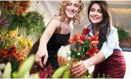 Social Deal: Waardebon voor bloemen en planten
