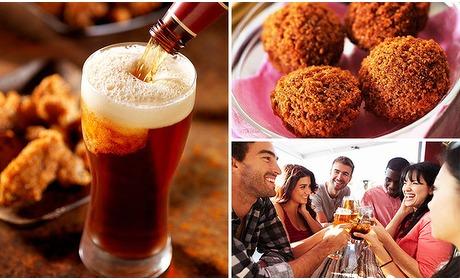 Social Deal: 2 glazen speciaalbier + bitterballen in hartje Haarlem