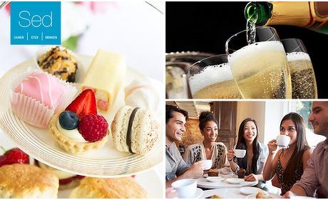 Social Deal: Luxe high tea + glas bubbels bij Sed