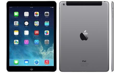 Groupon: Apple iPad Air, 16GB of 32GB