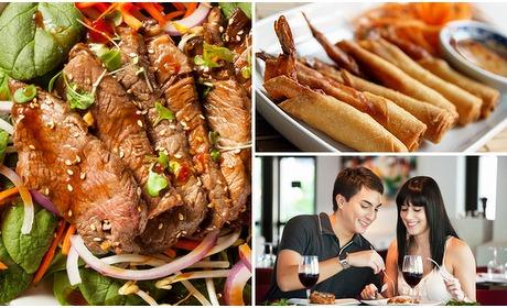 Social Deal: 3-gangen keuzediner bij Asian Delights
