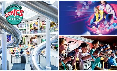 Social Deal: Entree voor indoor pretpark Comics Station Antwerp