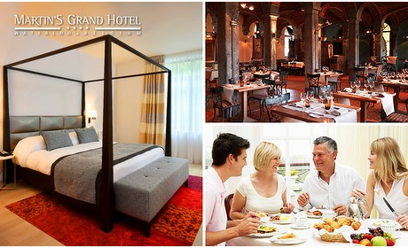 Social Deal: Hotelovernachting + ontbijt voor 2 in Waterloo