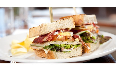 Wowdeal: 2-gangen lunch bij Grand Cafe Maagdenberg