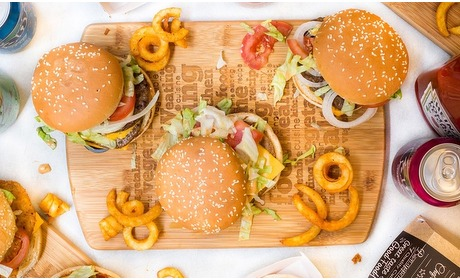 Groupon: Burger in hartje Den Haag