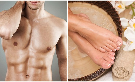 Social Deal: Pedicure- of waxbehandeling