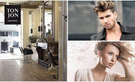 Social Deal: Kappersbehandeling (m/v) bij Tonjon Hairstyling