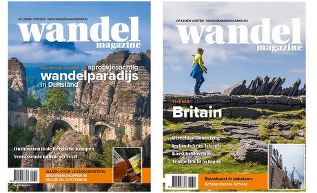 Groupon: 6 tot 12 nummers Wandel Magazine