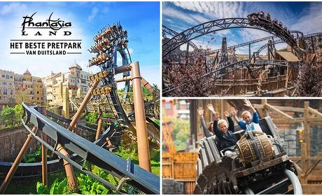 Social Deal: Entreeticket Phantasialand (+ extra gratis ticket)