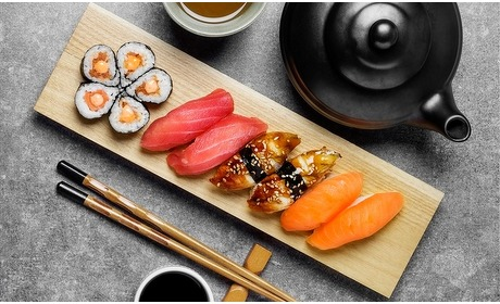Groupon: Luxe sushi High Tea (2 pers.)