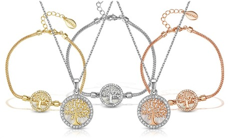 Groupon: Tree of Life met Swarovski