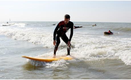 Groupon: Zandvoort: hele dag surfen + les