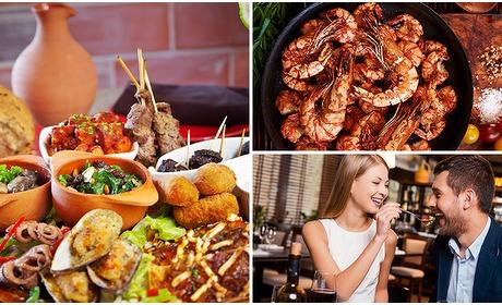 Social Deal: All-You-Can-Eat tapas (3 uur) bij Restaurant Granada