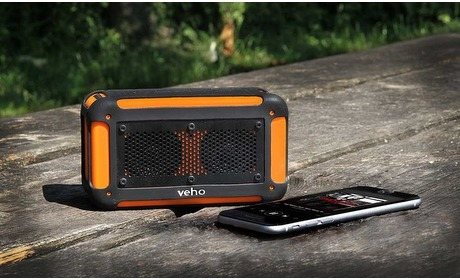 Groupon: Veho waterproof BT speaker