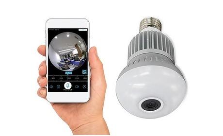 Groupon: Lamp met verborgen HD-camera