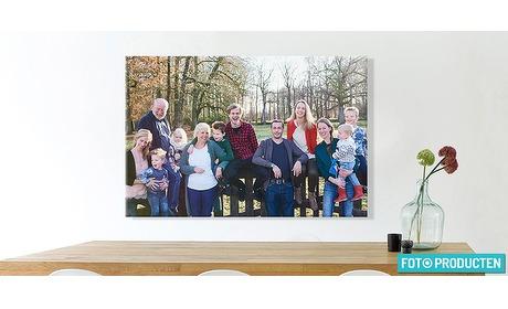 Wowdeal: Foto op aluminium, vurenhout of textielposter bij Fotoproducten.nl