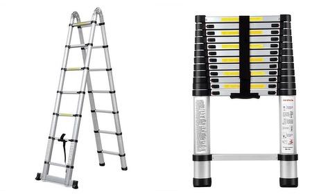 Groupon: Uitschuifbare ladder