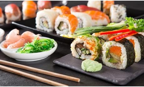 Groupon: Onbeperkt sushi en Indo (2 p.)