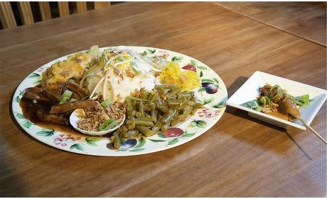 Groupon: Indonesische rijstschotel (2 p.)