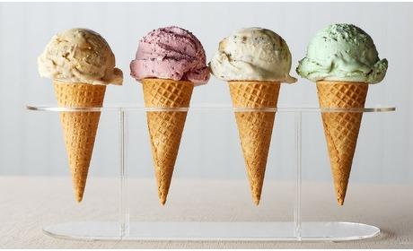 Groupon: 10 x een ijsje