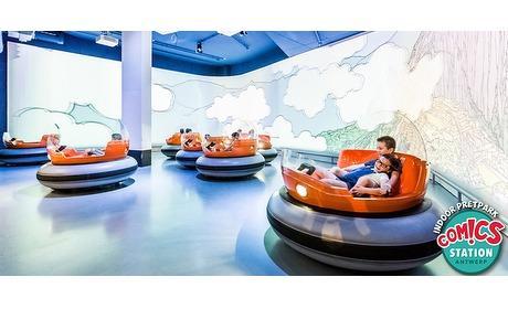 Wowdeal: Entree Indoor Pretpark Comics Station Antwerp