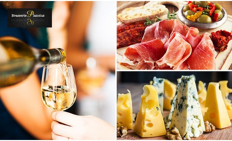 Social Deal: High wine + borrelplank bij Plancius