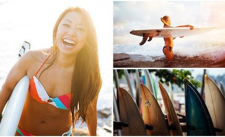 Social Deal: Surfles (2 uur)  + 1 uur of complete dag vrij surfen
