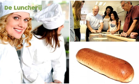 Social Deal: Workshop worstenbroodjes maken (2,5 uur) + koffie/thee