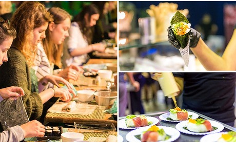 Social Deal: Entreeticket International Sushi Festival