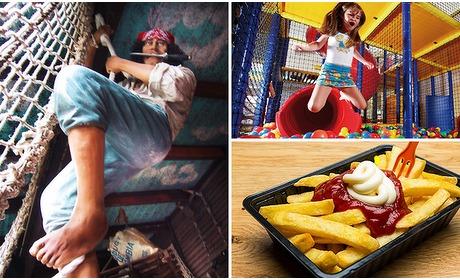 Social Deal: Entree voor Kids City + snackpakket
