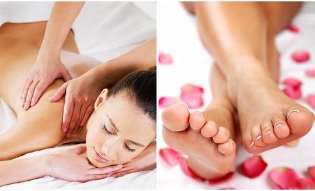 Social Deal: Ontspannings- of voetreflexmassage (60 min)