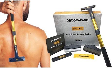 Groupon: Scheerapparaat voor rug + lichaam