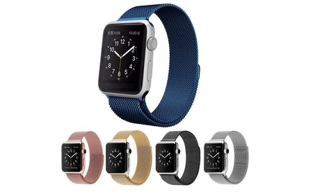 Groupon: Stalen armband voor Apple Watch