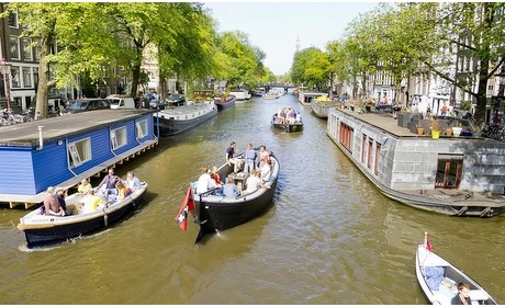 Groupon: Varen door de grachten