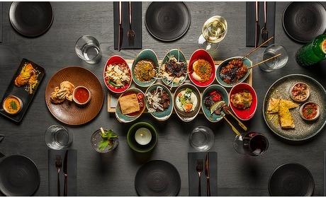 Groupon: Ron Blaauw: rijsttafel vis/vlees
