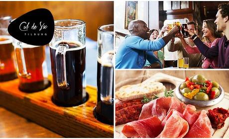 Social Deal: Bierproeverij + hapjes bij Cul de Sac