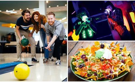 Social Deal: Bowlen (1 uur) + 1 spel lasergame + hapjes